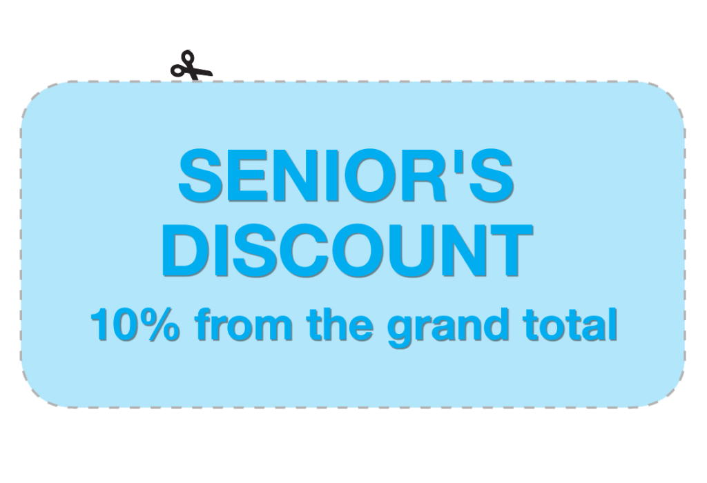 Cleaning Services seniors offer